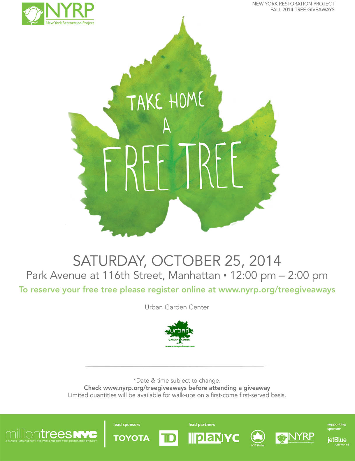 Tree Giveaway Flyer_UGC