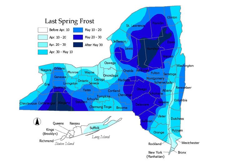 Tips Tricks Resources - Us frost depth map